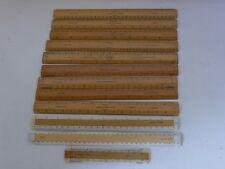 Vintage Boxwood Scale Ruler for Engineers Architects Surveyors Draftsman