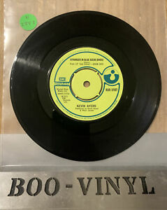 "Kevin Ayres Stranger In Blue Suede Shoes 7"" Single HAR 5107 EX CON RARE"
