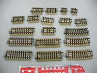 AI142-1# 18x Märklin H0/00 Ausgleichsstück (M-Gleis) f 3600/800 m Mittelleiter