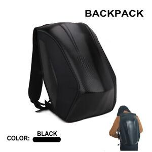 Waterproof pongee polyester Carbon fiber Motorcycle Bike Backpack Storage Bag