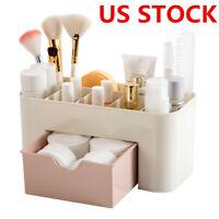 c0dab43a9725 US Stock Makeup Case Storage Women Organizer Box Drawer Cosmetic Holder  Perfume
