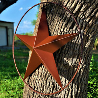 "Rustic Dimensional Barn Star - 36"" Country Farmhouse Home Decoration"
