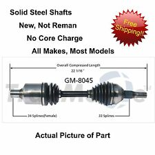 2000-2007 CHEVROLET MONTE CARLO CV Axle Shaft-New Front Left FITS OTHER MODELS