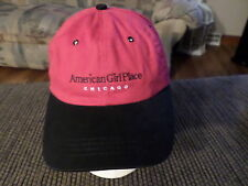 AMERICAN GIRL PLACE CHICAGO RED BLACK ONE SIZE BASEBALL CAP HAT FREE SHIPPING