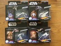 Hot Wheels STAR WARS Starships Commemorative Series Lot #2