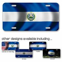 License Plate - Flag of El Salvador - Choose your design