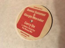 "Donna Summer & Giorgio Moroder - Carry On vinyl 12"""