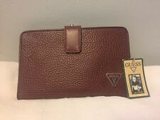 """NWT Guess Clutch Wallet/Purse ~Removable Straps~Pecan Brown~8""""x5"""""""