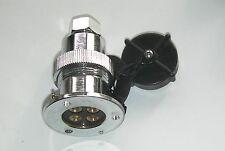 Cubierta 4 Pin 10 Amp grandes Eléctrico Plug & Socket & Tapa & Sello, nominal 20 Amp