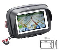 GIVI GPS + Smartphone-Tasche bis 5 Zoll mit Lenkerhalter und Spiegelhalter S954B