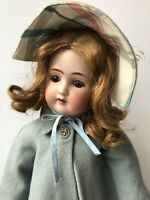"Antique German 20"" Alt Beck Gottschalck 1362 Bisque Head Doll"