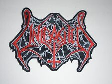 UNLEASHED DEATH METAL EMBROIDERED BACK PATCH