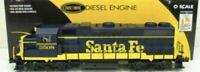 ✅ K-LINE TMCC SANTA FE GP38-2 DIESEL ENGINE FITS LIONEL MTH ATLAS TRAIN ATSF