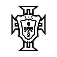 Autocollant Portugal FPF logo foot adhésif stickers couleur au choix vert 10 cm