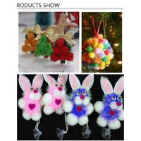 50 Pcs/ Bag 20mm DIY Chenille Stems Plush Ball Glitter Manual Children Doll Toys