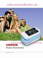 OLED Color PULSE OXIMETER SPO2 PR FINGER BLOOD OXYGEN HEART RATE MONITOR METER