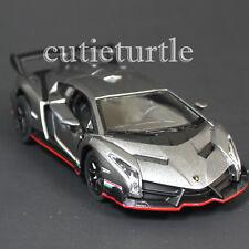 Kinsmart Lamborghini Veneno 1:36 Diecast Toy Car Grey