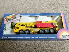 Vintage Siku 4110 Diecast Hydraulic Crane Truck - 1980 - Boxed