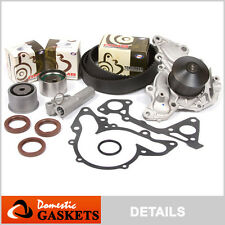 Fit 97-12 Mitsubishi Eclipse 3.8L 3.5L Timing Belt Kit Water Pump GMB Tensioner