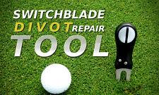 Switchblade Divot Repair Tool & Ball Marker - Club rest & Cleaner