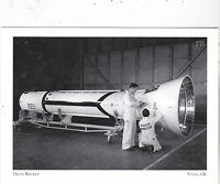 """*Postcard-""""Delta Rocket""""-  *Tulsa, OK  (#120)"""