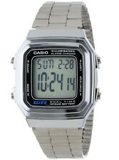 Casio Vintage Watch * A178WA-1A Illuminator Silver Steel Classic COD PayPal