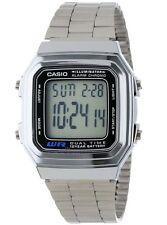 Casio Vintage Watch * A178WA-1A Illuminator Silver Steel Classic COD PayPal