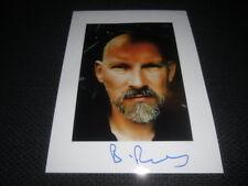 Dead Can Dance Brendan perry signed autographe sur 20x28 cm photo inperson Look