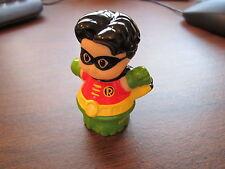 Fisher Price Little People DC Super friends Robin Batman Justice League Hero toy