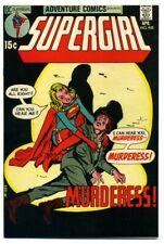 ADVENTURE COMICS  #405 ~ SUPERGIRL High Grade 1971 GEM NM 9.2+ CGC it! White pgs