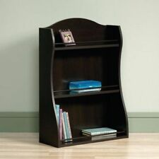 Small Bookshelf Bookcase Children Low Short Wood Cherry Furniture Modern Storage