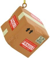 Tree Buddees Funny Damaged Delivery Package Box Christmas Ornament Ornaments