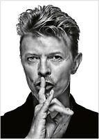 David Bowie Vintage Photo Large Poster Art Print Maxi A1 A2 A3 A4