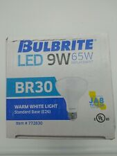 Bulbrite LED 9W 65W Dimmable Warm White Light 772830