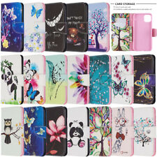 For Apple iphone 11 Pro Max XR XS 8 7 6 Wallet Flip Leather Phone TPU Case Cover