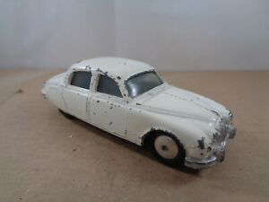 Corgi Toys no.208 Jaguar 2.4 Litre In White , Vintage Diecast