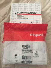 New Legrand Wiremold Wh2051H Steel Flush Plate Adapter 2000 Series White
