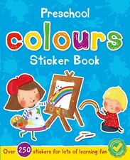 Nursery Pre School Early Learning Activity Book Colours Children 2 3 4