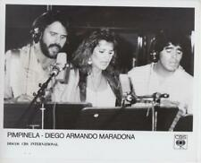 Pimpinela- Diego, Armando, Maradona- Music Memorabilia Photo