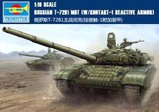 Trumpeter 00925 1/16 GermanRUSSIAN T-72B1 MBT 【W /KONTAKT-1 RE AGTIVE】 Model Kit