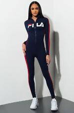 Cotton Activewear Blue FILA for Women