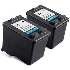 2 Pack HP 21 Ink Cartridge C9351AN - PSC 1410 1417 OfficeJet J3608 J3625 J3635