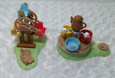 Calico Critters Sylvanian Families Baby Ferris Wheel Tea Cup Amusement Park Lot