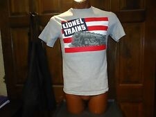 Lionel Trains gray small t-shirt, American toy manufacturer and retailer