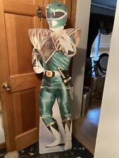 GREEN RANGER STANDUP STANDEE CARDBOARD CUTOUT MIGHTY MORPHIN POWER RANGERS 1994