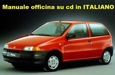 Fiat PUNTO Prima serie (176) Mk1 Manuale Officina ITALIANO SU CD GT e CABRIO