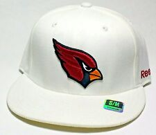 8e27ef5d2 Arizona Cardinals AZ NFL Reebok Sideline White Era Flex Fitted Hat Cap S m