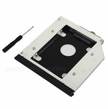 SATA 2nd SSD Caddy de disco duro HDD para HP EliteBook 6930p 8440w 8540p 8730w