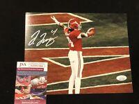Jerry Jeudy Signed NCAA 8x10 Alabama Crimson Tide JSA Autograph Football