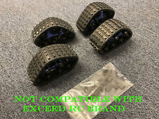 Snow Track for 1/10 Scale RC Truck New (One Set: 4pcs)